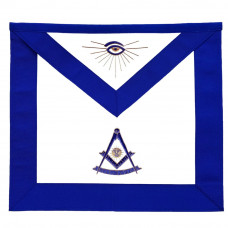 Masonic Blue Lodge Past Master Apron