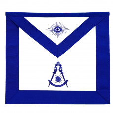 Masonic Past Master Blue Lodge Apron