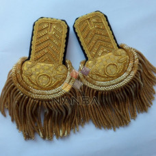Uniform Epaulette Shoulders With Bugle
