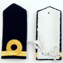 Navy and Rank Shoulders