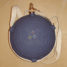 Civil War Canteen With Blue Color