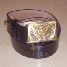 Civil War Belt with Eagle Plate Buckle