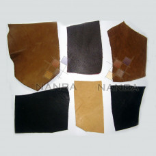 Civil War leather swatches
