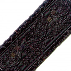 Uniform Black Lace with Acacia Leaves