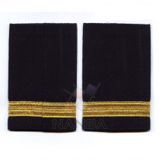 SHOULDER RANKS WITH GOLD BRAIDED