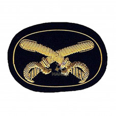 ARTILLERY EMBROIDERED HAT BADGE