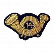 INFANTRY OFFICERS HAT BADGE