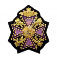 Bullion Embroidery Heraldic Badge