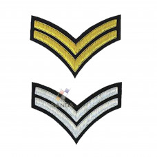 2 STRIPE CHEVRONS BADGE