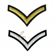 STRIPE CHEVRON BADGE