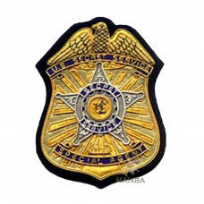 EMBROIDERED SECRET SERVICE BADGE