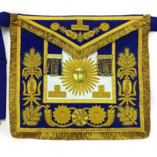 Deluxe Masonic Past Grand Master Apron Grand Lodge of Nova Scotia Canada
