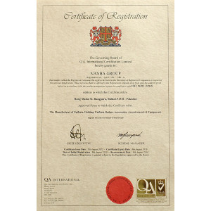 Certificate ISO 9001-2008