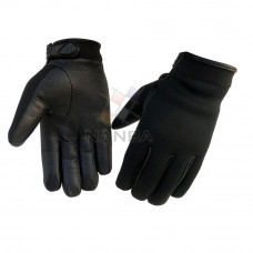 BLACK POLICE GLOVES