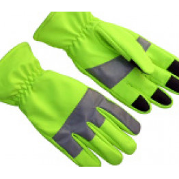 High Visibility Police Gloves