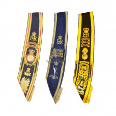 Hand Embroidered Sashes | Drum Majors Sashes | Baldrics Sashes