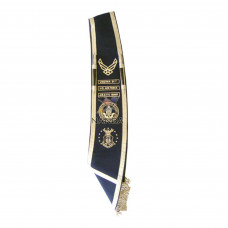 Hand Embroidered Sashes | Drum Majors Sashes | Baldrics Sashes.