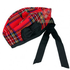Royal Stewart Tartan Glengarry