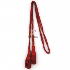 Bagpipe Silk Cord - Red