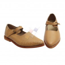 Medevial Low Buckle Shoes