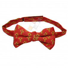 Masonic Bow Tie Rose Croix Degree Red