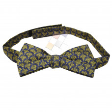 Masonic Bow Tie woven with Square Compass & G