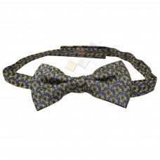 Masonic Bow Tie woven with Square & Compass