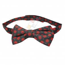 Masonic Bow Tie Rose Croix polkadot  with Red Logo
