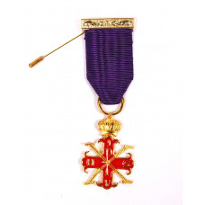 Red Cross Of Constantine Past Sovereign Master Breast Jewel