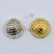 Masonic Collar Ball Silve And Gold