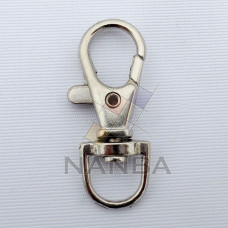 Masonic Metal Swivel Lobster Clasp