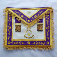 AZUR Grand Lodge Apron Purple