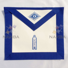 Blue Lodge Hand Embroidered