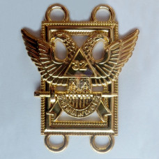32nd Degree Scottish Rite Chain Collar Emblem