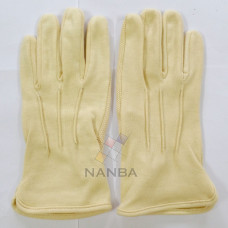Yellow Cotton Gloves