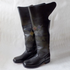 Civil War Leather Dragoon Style Boots