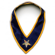 Associate Patron Order of the Eastern Star OES Collar