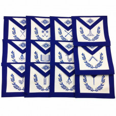 Masonic Blue Lodge Officers Aprons