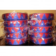DIAMOND RIBBON RED And BLUE