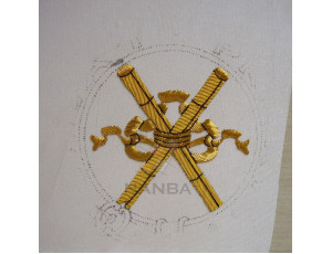 Masonic Badges While Embroidered 024