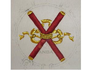 Masonic Badges While Embroidered 027