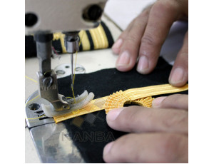 Navy Epaullette Sewing Process 02