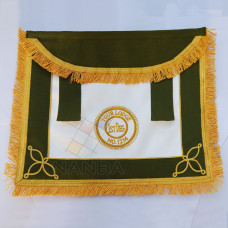 RAOB Apron with Emblem Rounded Bib