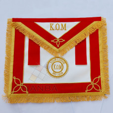 RAOB Apron with Emblem KOM Red