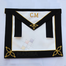 RAOB UNDRESS APRON WITH EMBLEM CM