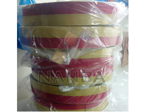 Webbing Yellow and Maroon 002