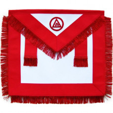 Masonic Royal Arch Apron Member RAM With Fringe