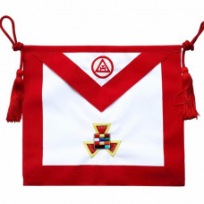Masonic Apron Royal Arch Past High Priest PHP  Hand Embroidered