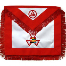 Masonic Royal Arch Apron Past High Priest Hand Embroidered