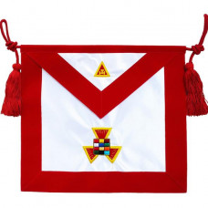 Masonic Apron Royal Arch RAM Past High Priest PHP  Hand Embroidered